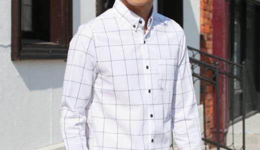 男のシャツの着こなしは、ウィンドウペン柄で決まる!